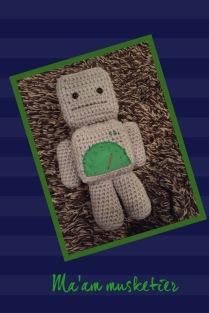 """Robot uit """"knuffels en speelgoed haken"""""""